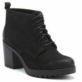 Vagabond  Grace Womens Black Nubuck Boots  women's Low Ankle Boots in Black