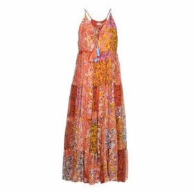 Derhy  CABLE  women's Long Dress in Multicolour