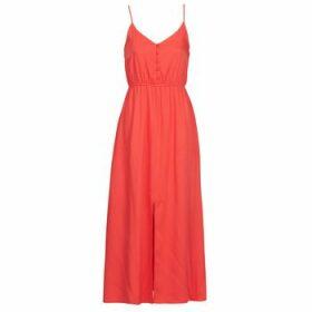 Betty London  MELLE  women's Long Dress in Red