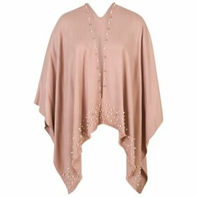 Chesca Pearl Beaded Poncho
