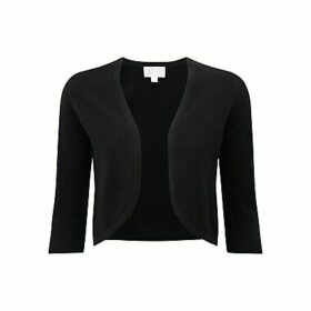 Pure Collection Juliette Cashmere Shrug, Black