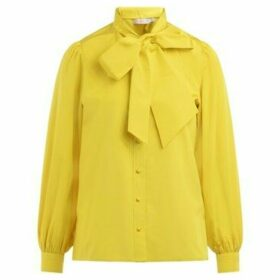 Tory Burch  Bright yellow shirt with removable tie  women's Shirt in Yellow