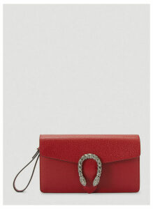 Gucci Dionysus Clutch in Red size One Size