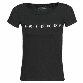 Moony Mood  FRIENDS LOGO  women's T shirt in Black