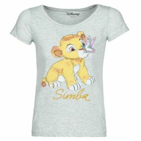 Moony Mood  THE LION KING  women's T shirt in Grey