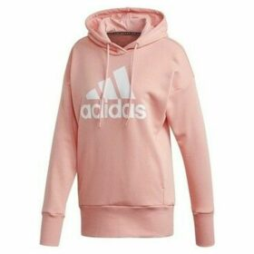 adidas  Badge OF Sport  women's Sweatshirt in Pink