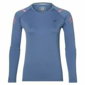 Asics  Icon  women's Sweatshirt in Blue