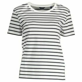 Gant  T-shirt short sleeves Women 1901.4202437  women's T shirt in multicolour