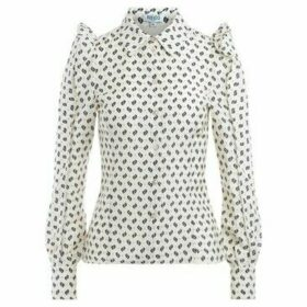 Kenzo  shirt made of white cotton with Ikat print  women's Shirt in White
