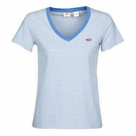Levis  PERFECT VNECK  women's T shirt in Blue
