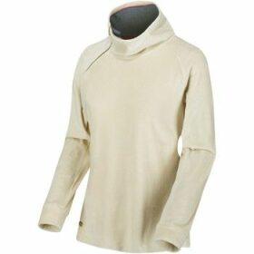 Regatta  Cliona Velour Sweatshirt Cream  women's Sweatshirt in White