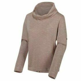 Regatta  Harmonique Cowl Neck Sweatshirt Brown  women's Sweatshirt in Brown