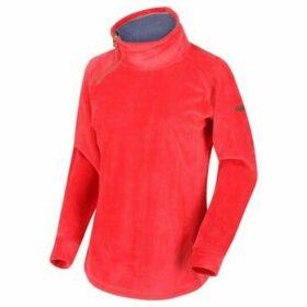 Regatta  Cliona Velour Sweatshirt Red  women's Sweatshirt in Red