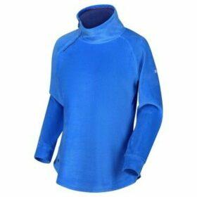 Regatta  Cliona Velour Sweatshirt Blue  women's Sweatshirt in Blue