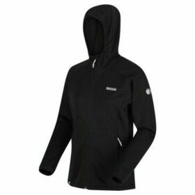 Regatta  Helio Hooded Stretch Midlayer Black  women's Blouse in Black