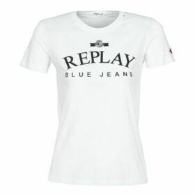 Replay  -  women's T shirt in White
