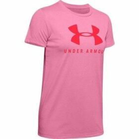 Under Armour  Graphic Sportstyle Classic Crew  women's T shirt in Pink