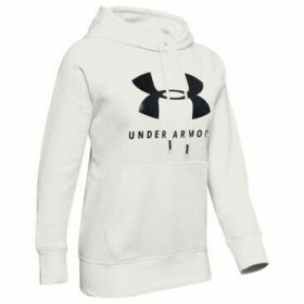 Under Armour  Rival Fleece Sportstyle Graphic Hoodie  women's Sweatshirt in White