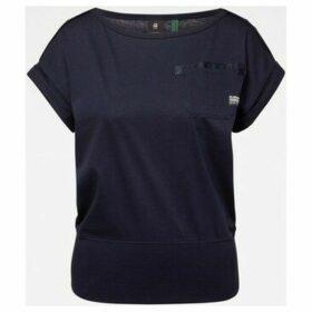 G-Star Raw  D16277 C109 NOXER  women's T shirt in Blue