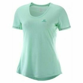 Salomon  W Agile SS Tee Yucca  women's T shirt in multicolour