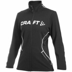 Craft  Logo Full Zip W  women's Sweatshirt in Black