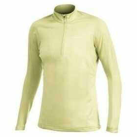 Craft  Zip Pullover Bodymapping  women's Sweatshirt in Yellow