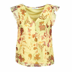Vila  VIFALIA  women's Blouse in Yellow