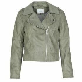 JDY  JDYPEACH  women's Leather jacket in Grey