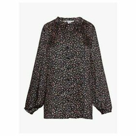 Gerard Darel Mawflower Blouse, Black