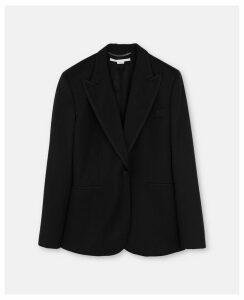 Stella McCartney Black Anissa Jacket, Women's, Size 14