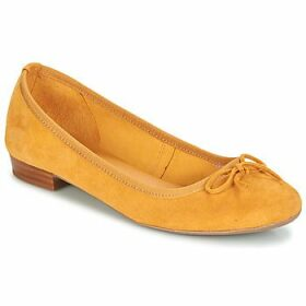 André  CINDY  women's Shoes (Pumps / Ballerinas) in Yellow