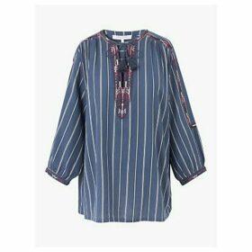 Gerard Darel Nathel Striped Tunic, Blue