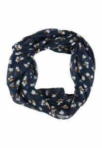 Womens Navy Floral Snood