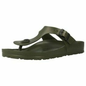 Birkenstock  128271  women's Flip flops / Sandals (Shoes) in Green