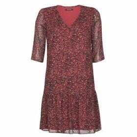 One Step  RINDA  women's Dress in Bordeaux