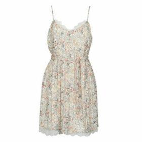 Le Temps des Cerises  JUNO  women's Dress in Beige