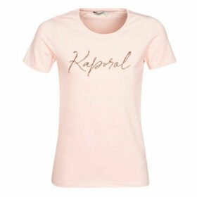 Kaporal  RAXI  women's T shirt in Pink