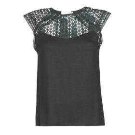 Molly Bracken  FLORENCE  women's Blouse in Black