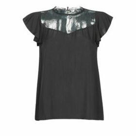 Molly Bracken  FLORELLA  women's Blouse in Black