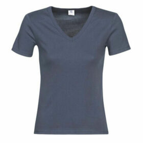 Petit Bateau  NETI  women's T shirt in Blue