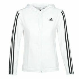 adidas  3S KNT FZ HOODY  women's Sweatshirt in White