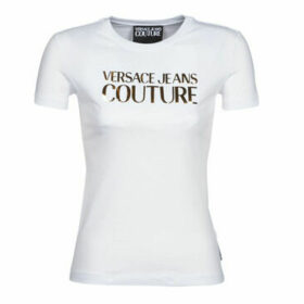 Versace Jeans Couture  B2HVA7E2  women's T shirt in White