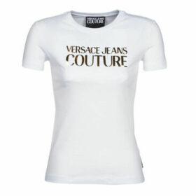 Versace Jeans Couture  B2HVA7E2  women's T shirt in White