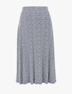 M&S Collection Jersey Ditsy Floral Skirt