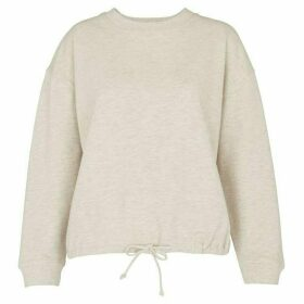 Whistles Gathered Hem Sweatshirt