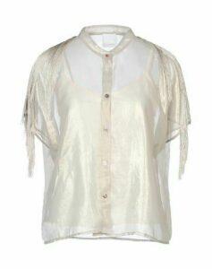 TOO WHITE SHIRTS Shirts Women on YOOX.COM