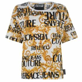 Versace Jeans Couture Versace Logo T Shirt