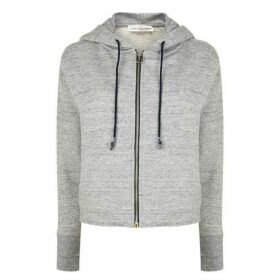 Golden Goose Deluxe Brand Crop Hooded Sweatshirt