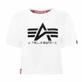 Alpha Industries Big A T Ld00 - White Black