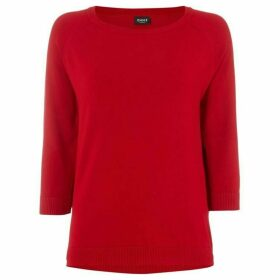 Emme Nic long sleeve crew neck sweater - Red